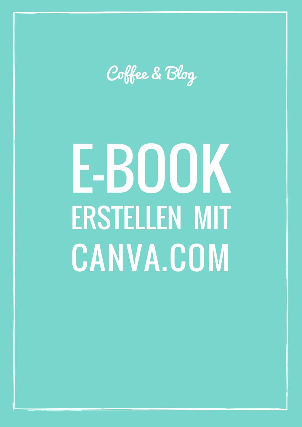E-Book erstellen mit Canva.com | Vorlagen, Einfach und Schreiben