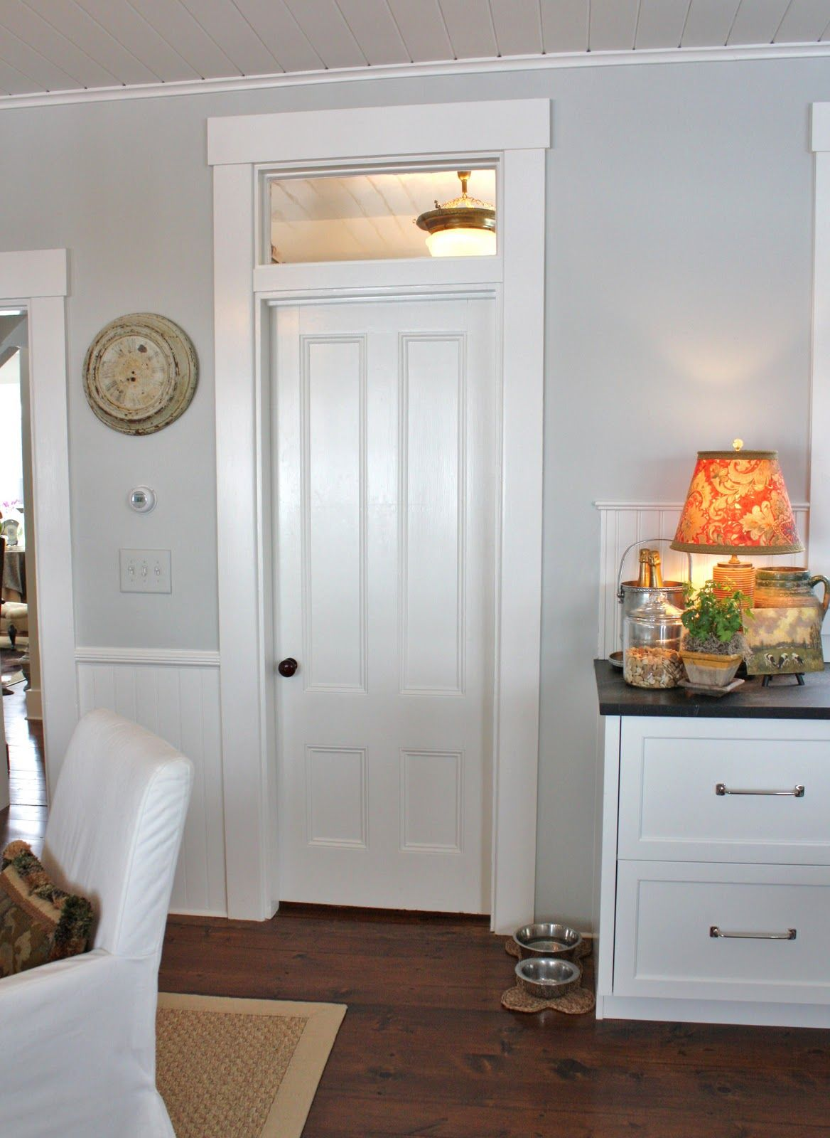 For The Love Of A House The Pantry Doors Interior Home Transom Windows