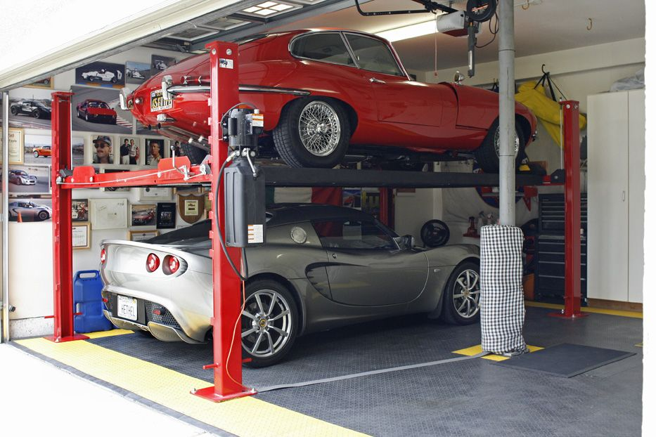 Lifts Like This Are Only 3k An Extra Garage Bay Is 40k You Do