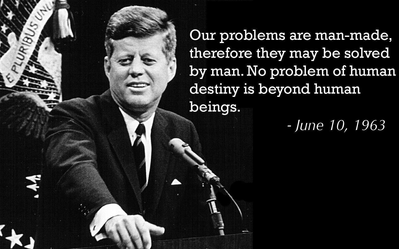 Jfk Quotes Unique Remembering Jfk 5 Of His Most Powerful Quotes  Pinterest