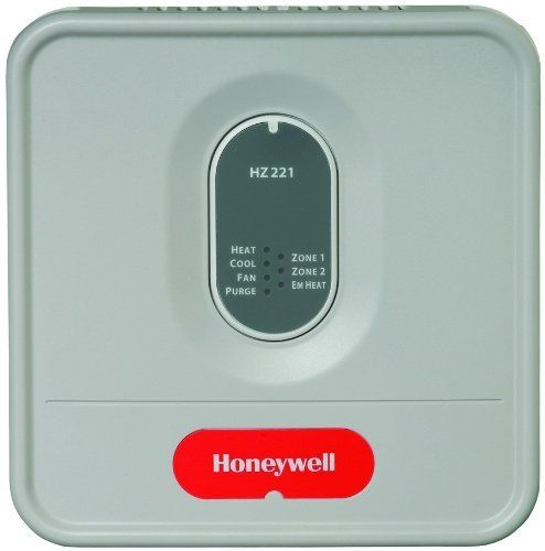 Truzone kit w c7735a1000 by honeywell 15636 hz221k honeywell honeywell true zone control panel controls 2 zone system true zone panel for single stage heat pumps with auxiliary heat applications up to two zones sciox Images