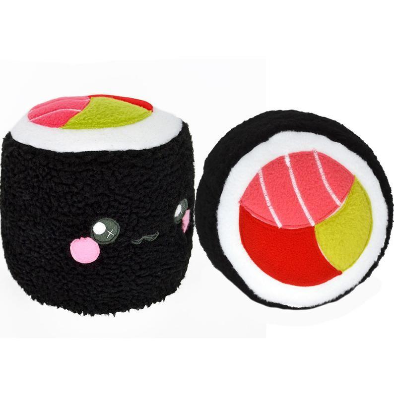 Sushi Roll Plushie Pillow Cushion Novelty Home Decor Food Kawaii
