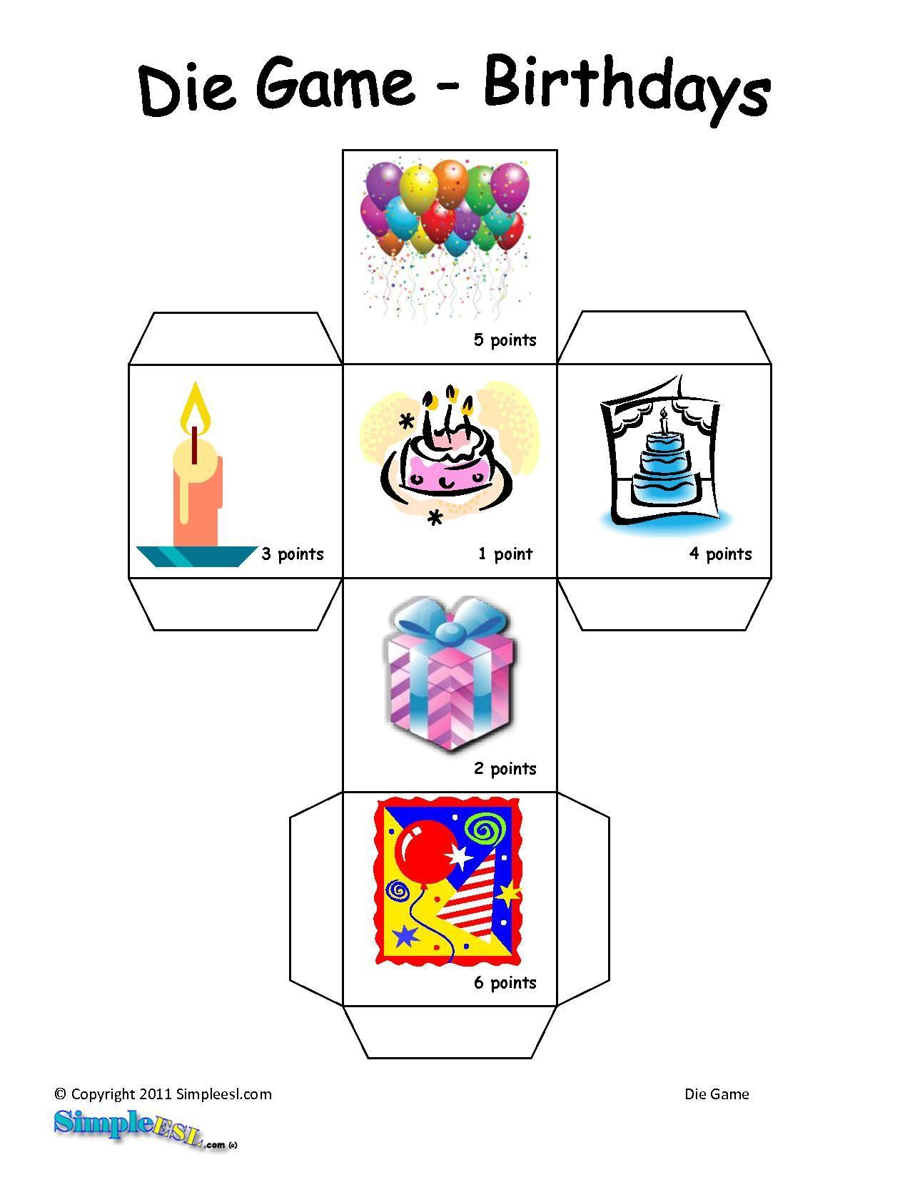 Language Games Worksheet