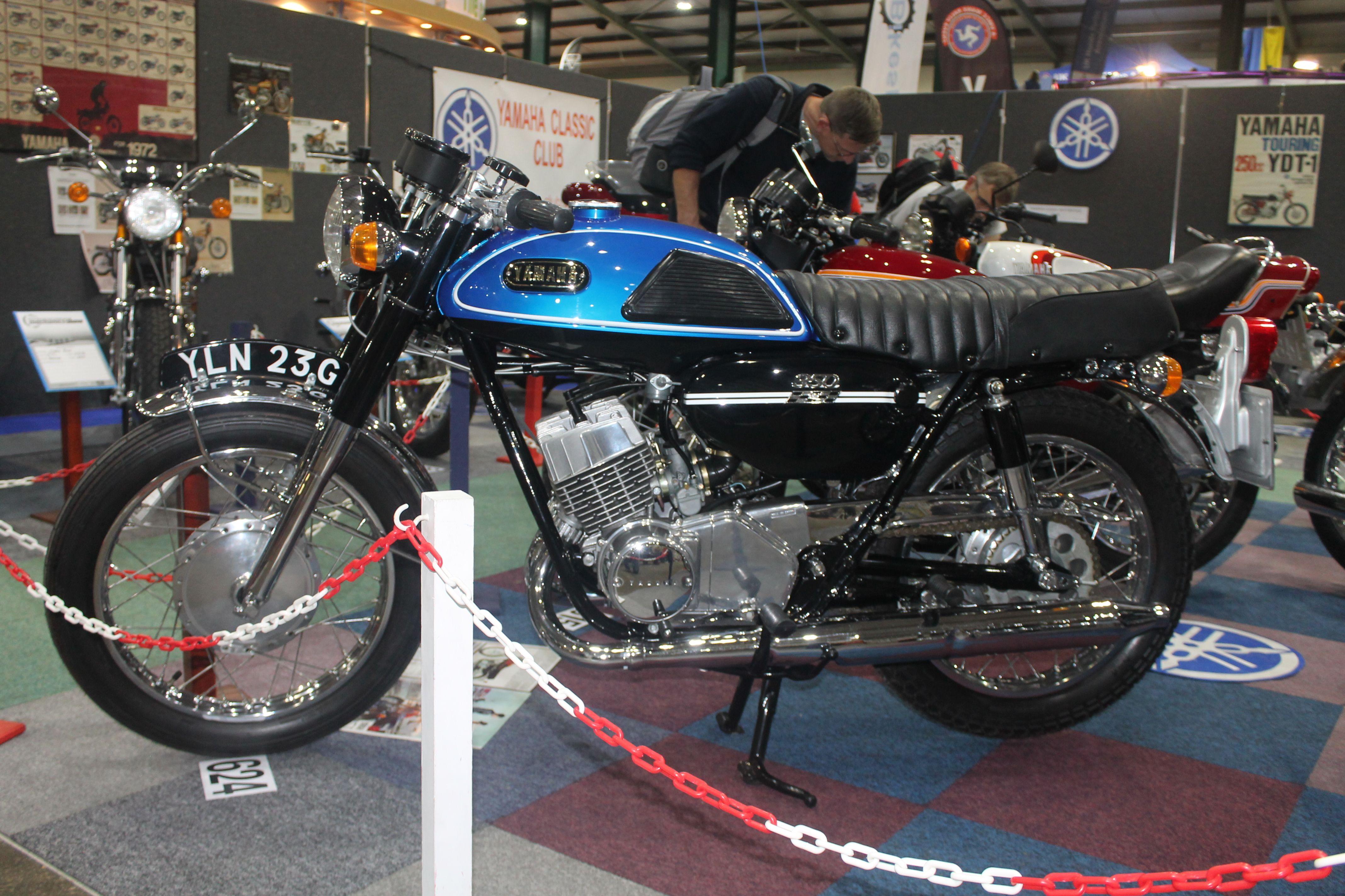 1969 Yamaha Yr3 350cc Yamaha Classic Motorcycles Valentino Rossi 46