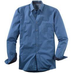 Photo of Olymp Casual Hemd, modern fit, Button-down, Marine, Xxl Olympolymp