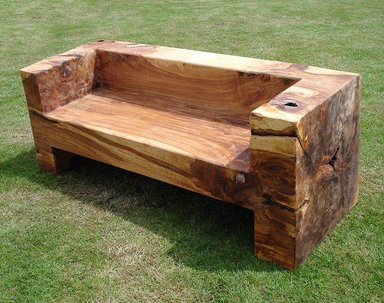 Treet Bench 09 Ideas For The House Log Furniture