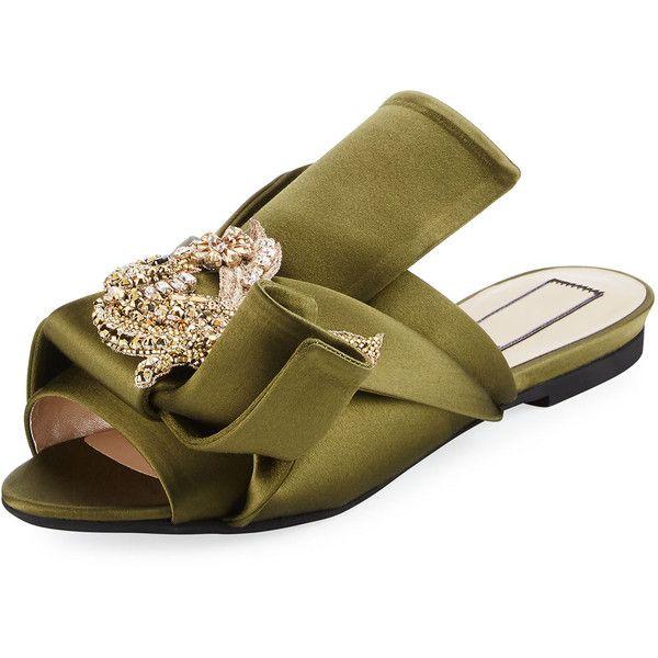 shoes sandals…   Peep toe shoes flat