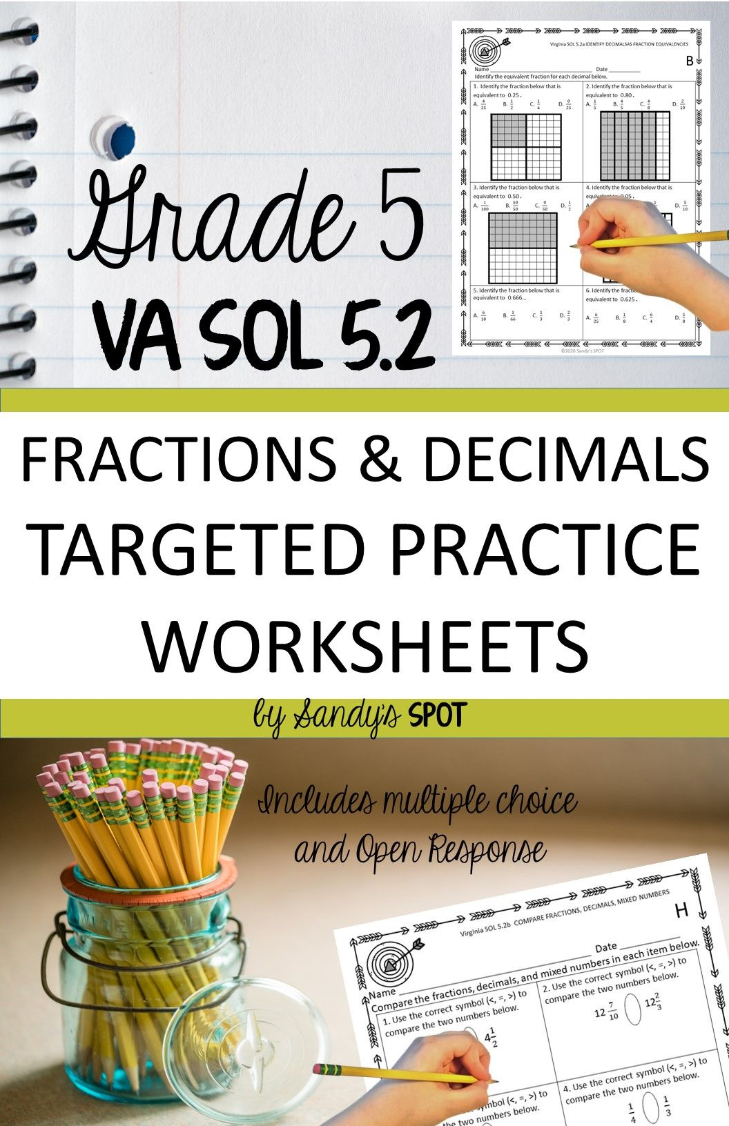 Fractions And Decimals In