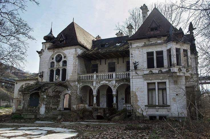 Abandoned Gothic Homes