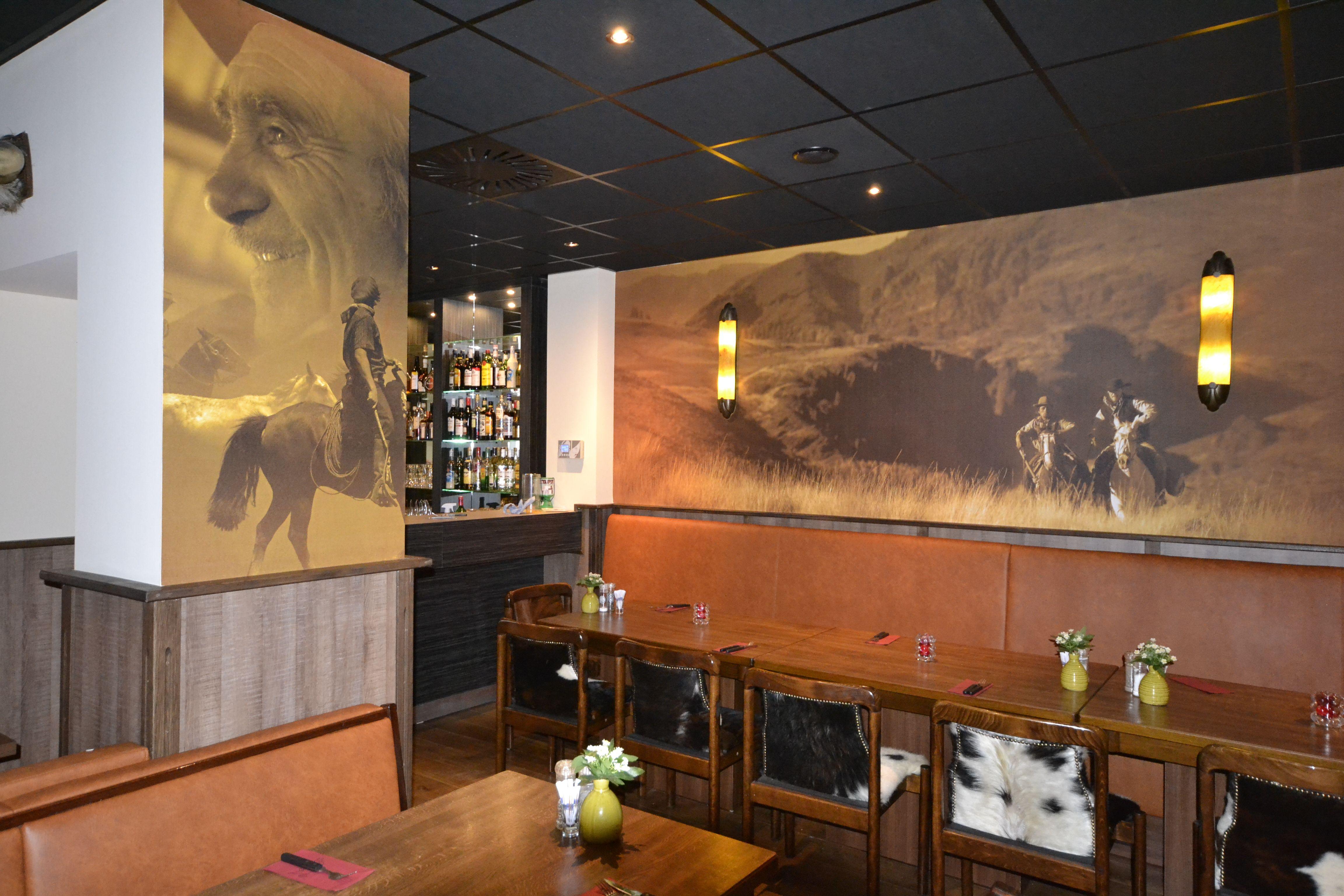 Horeca art wall restaurant interior interieur design