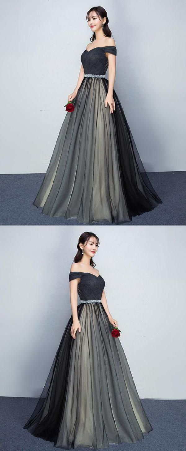 Black prom dresses prom dresses long luu style pinterest