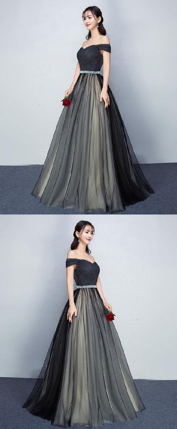 Black Prom Dresses Prom Dresses Long LUU style Pinterest