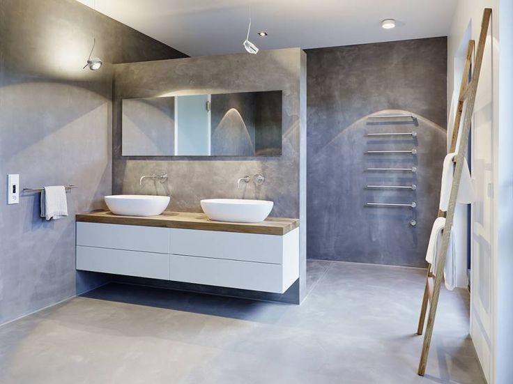 Moderne Badezimmer Bilder Penthouse homify Architecture - spiegel badezimmer mit beleuchtung