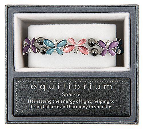 Equilibrium Bracelet - Purple Butterflies veK05vM
