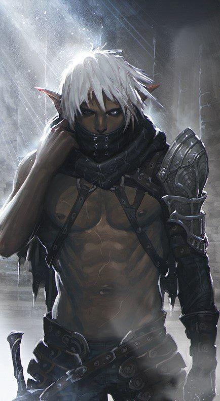Dark Elf from Mabinogi Duel … | Orcs and fantasy monsters ...