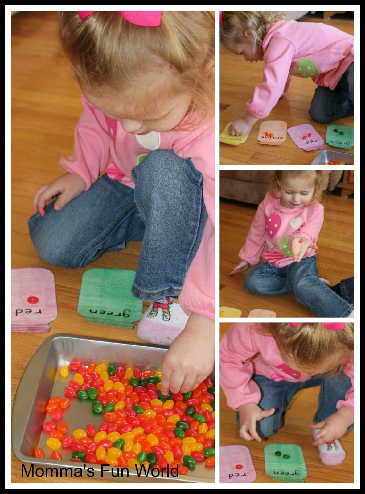 Jelly Bean Sorting Game