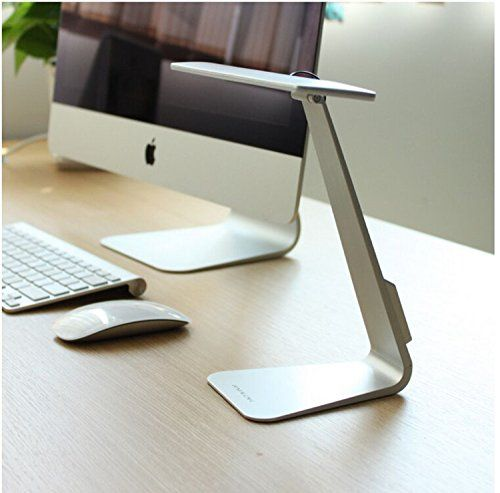Portable Rechargeable Desk Lamp Hapurs Touch Sensitive Controller Led Usb Dimmable Portable Lightweight Ta With Images Led Desk Lamp Touch Table Lamps Desk Light