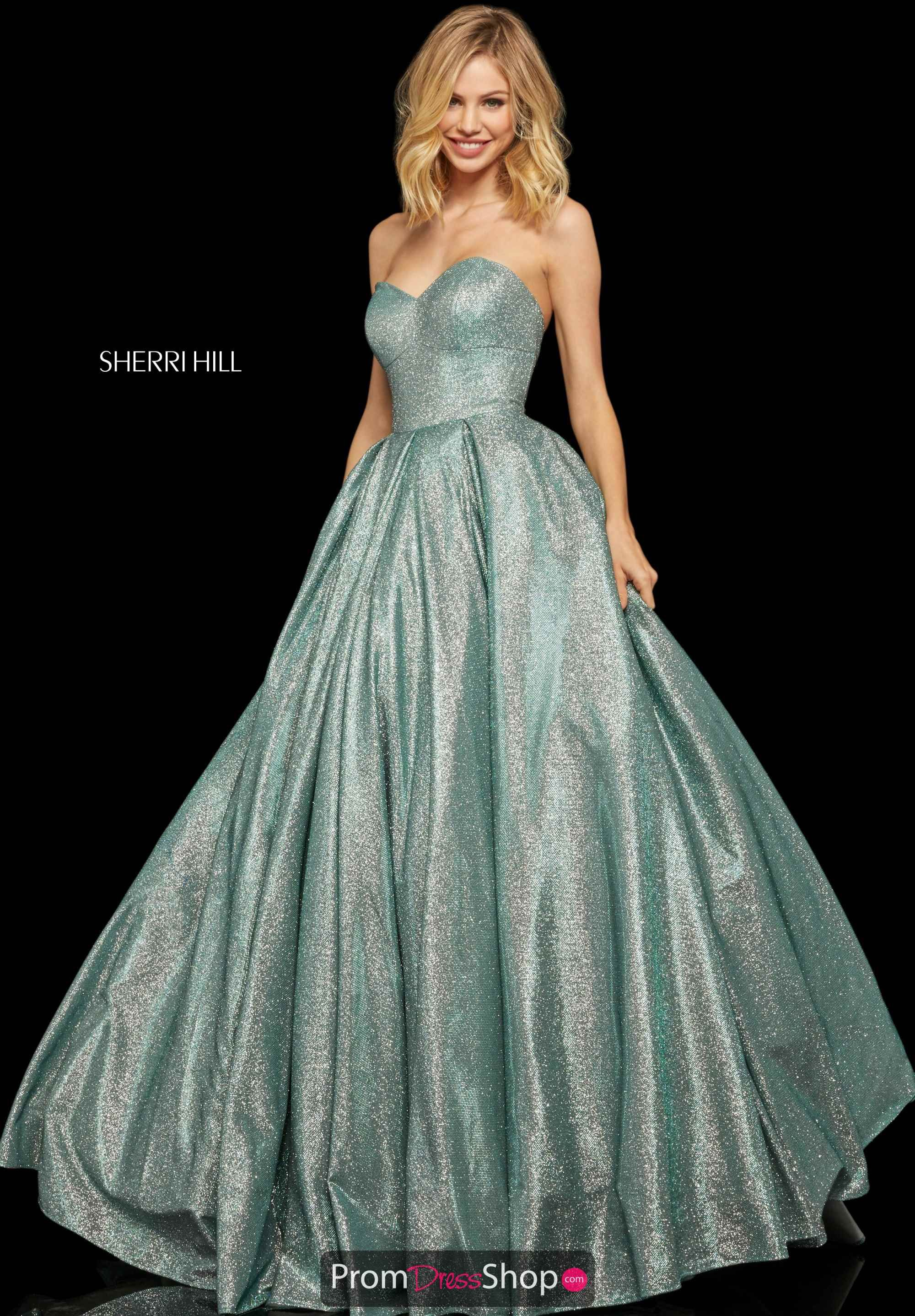 Sherri Hill Long A Line Dress 52959 Kina