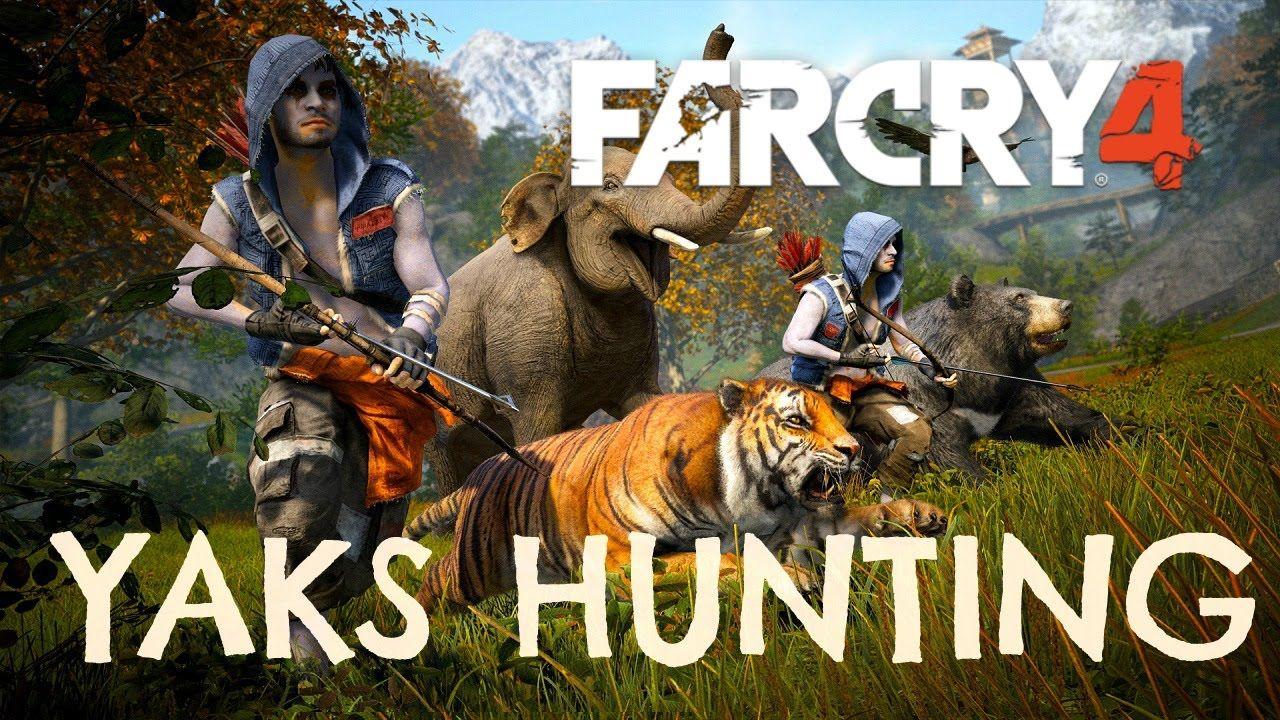 Yaks Hunting Far Cry 4 Location Far Cry 4 Crying American Games