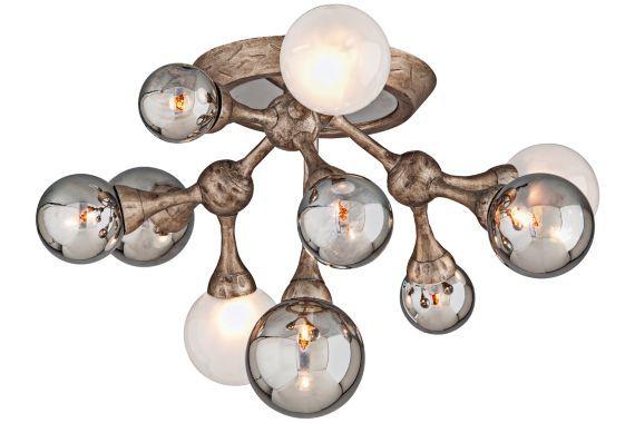 Corbett Element Vienna Bronze 22 3 4 Inch W Ceiling Light