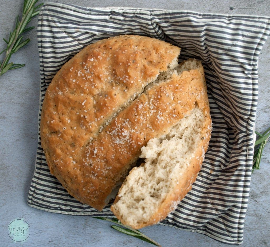 Gluten Free Rosemary Bread Just As Good Recipe In 2020 Rosemary Bread Gluten Free Bread Gluten Free Artisan Bread