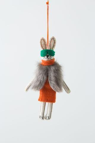 Aspen Ski Bunny Ornament