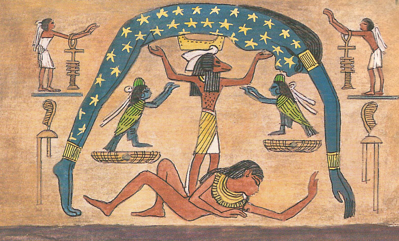 Nut Egyptian Goddess Of Sky Visually Appealing Pinterest