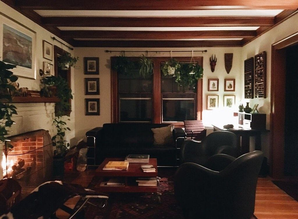 My Living Room On A Rainy Night Cozyplaces House Design Home Aesthetic Bedroom