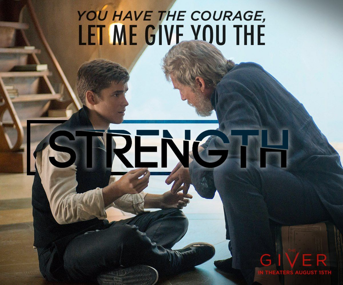 """You Have The Strength Quotes: """"You Have The Courage, Let Me Give You The Strength"""