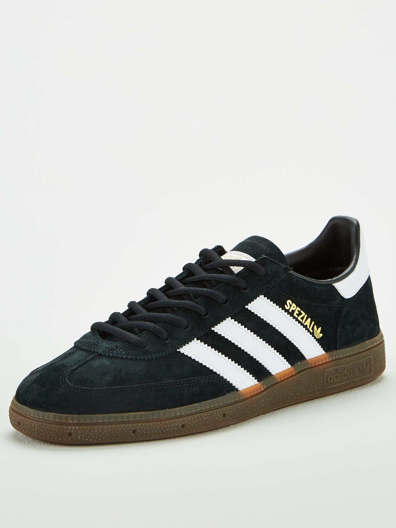 Adidas Originals Handball Spezial Black in BlackWhite
