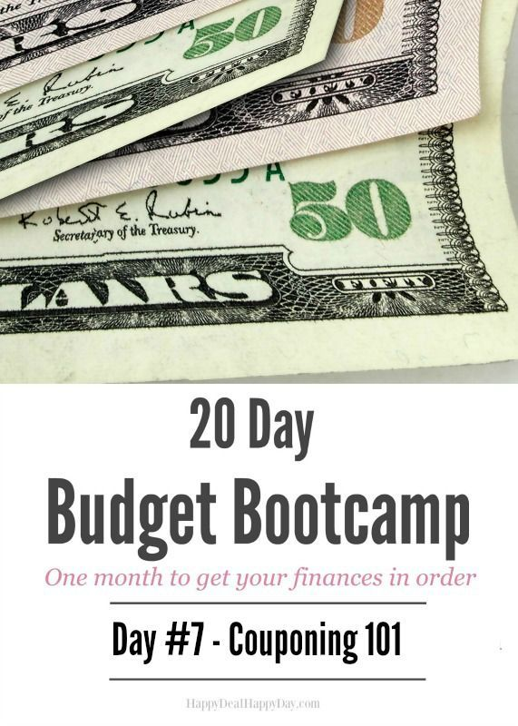 Couponing Bootcamp