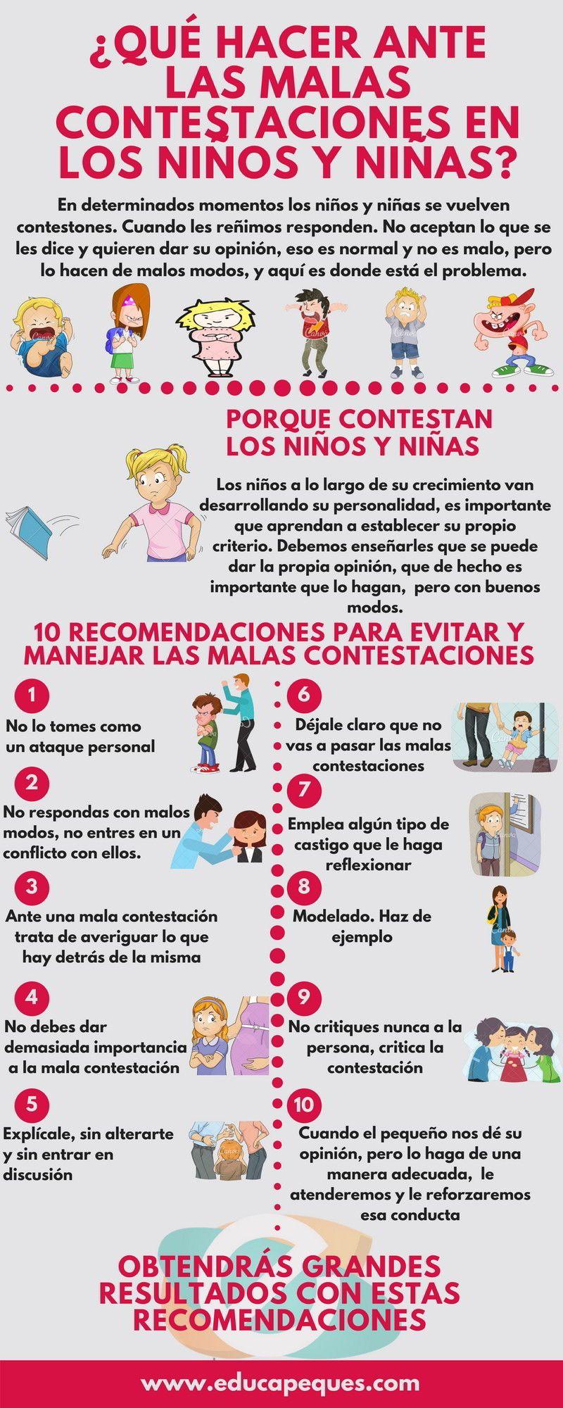 10 recomendaciones para evitar las malas contestaciones