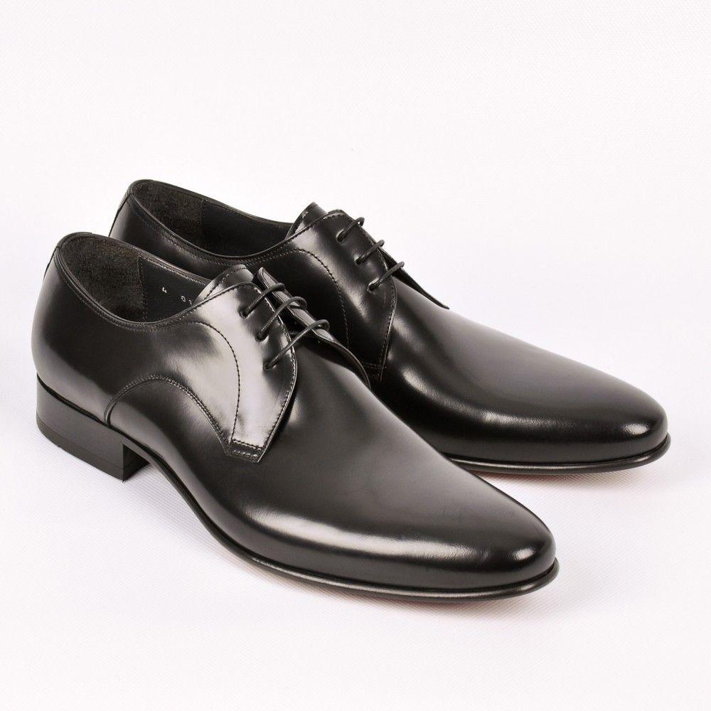 Sarar Black Derby Shoes Oxford Shoes Gentleman Shoes Dress Shoes [ 1000 x 1000 Pixel ]