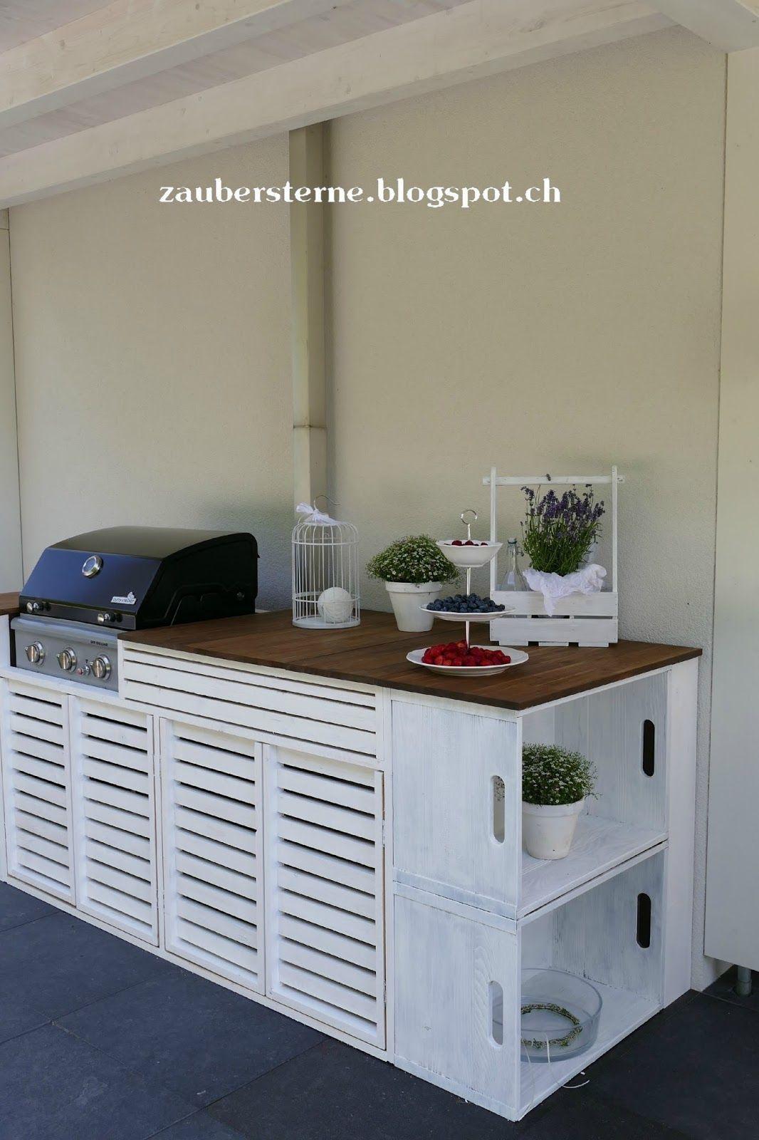 Outdoorküche DIY, Outdoorkitchen   Deko im Garten   Pinterest ...