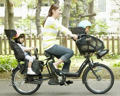Japanese E Bike Is Superior Kid Carrying Machine Baby Bike Kids
