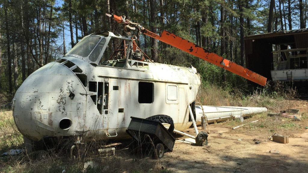 Sikorsky Helicopter Field Find