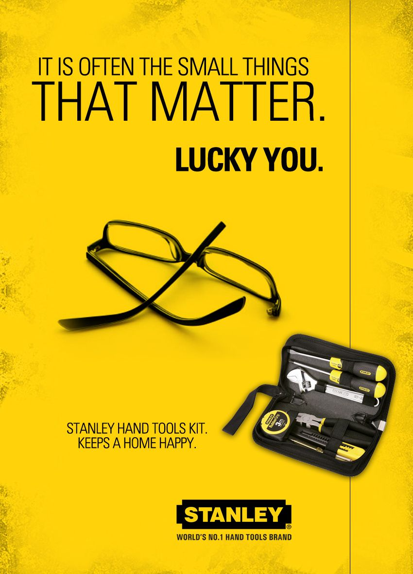 Product Brochure Cover Design Client Black Decker India Product Stanley Tool Kit
