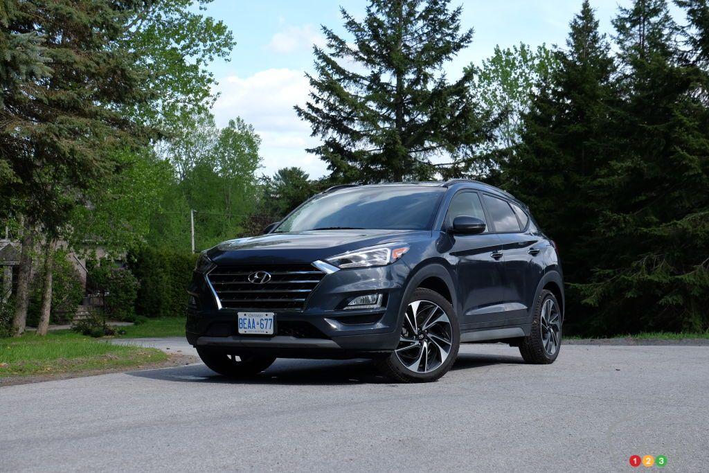 2019 HyundaiTucson Car Reviews Electronic stability