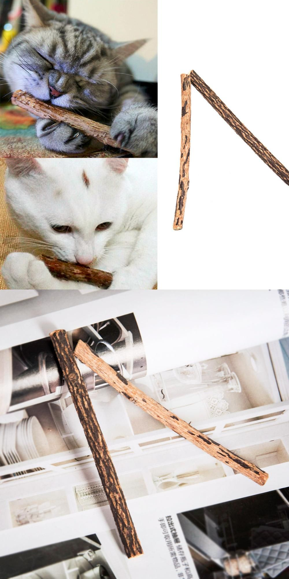 Visit To Buy Lovely Pet Product Cat Snacks Stick Cleaning Teeth