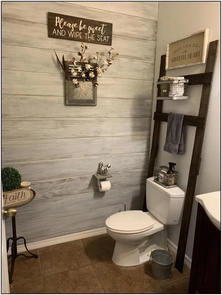 137 Latest Diy Half Bathroom Designs Ideas Page 13 In 2020 Half Bathroom Decor Half Bathroom Design Ideas Half Bathroom