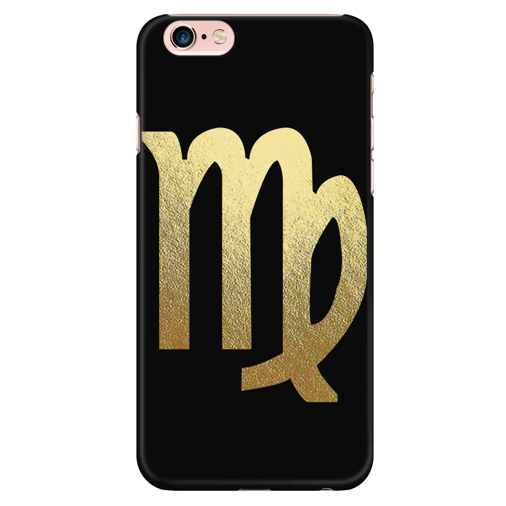 Virgo Gold Sign Iphone 6 Plus6s Plus Phone Case Zodiac Zodiac