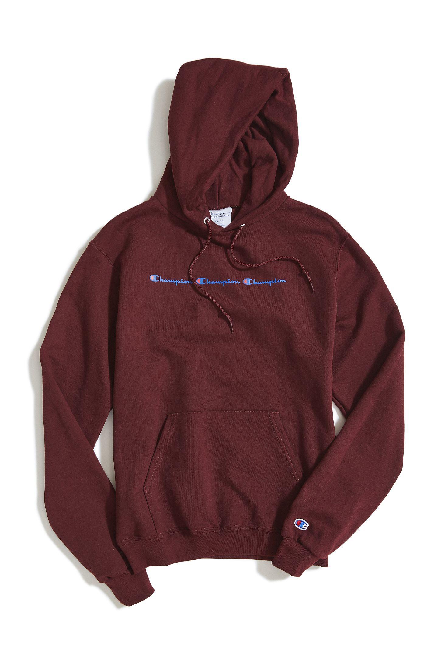 Champion Eco Triple Script Hoodie Sweatshirt Urban Outfitters Sweatshirts Hoodie Hoodies Sweatshirts [ 2175 x 1450 Pixel ]