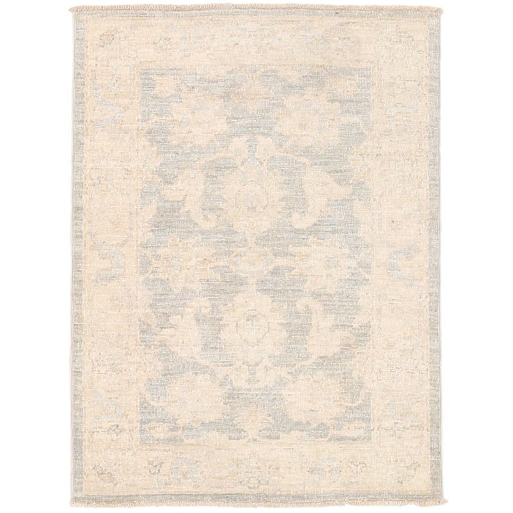 Herat Oriental Afghan Hand-knotted Vegetable Dye Oushak Wool Rug