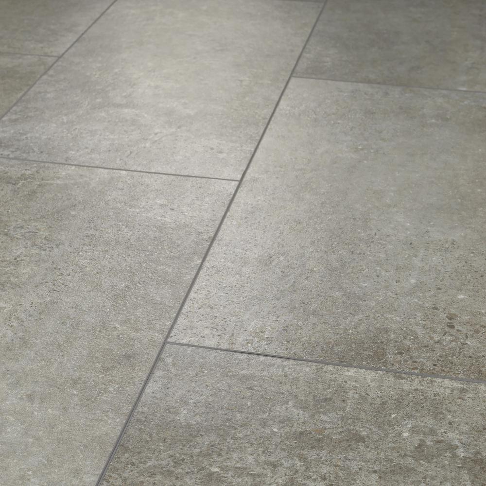 Shaw Vista Atlantic Grey 12 In X 24 In Luxury Vinyl Tile 15 83 Sq Ft Hd88105062 The Home Depot In 2020 Luxury Vinyl Tile Vinyl Tile Flooring Vinyl Tile