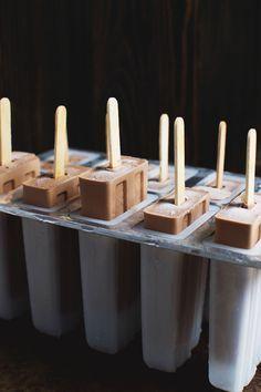 Easy Low Carb Fudge Popsicles Recipe Fudge Popsicle Recipe