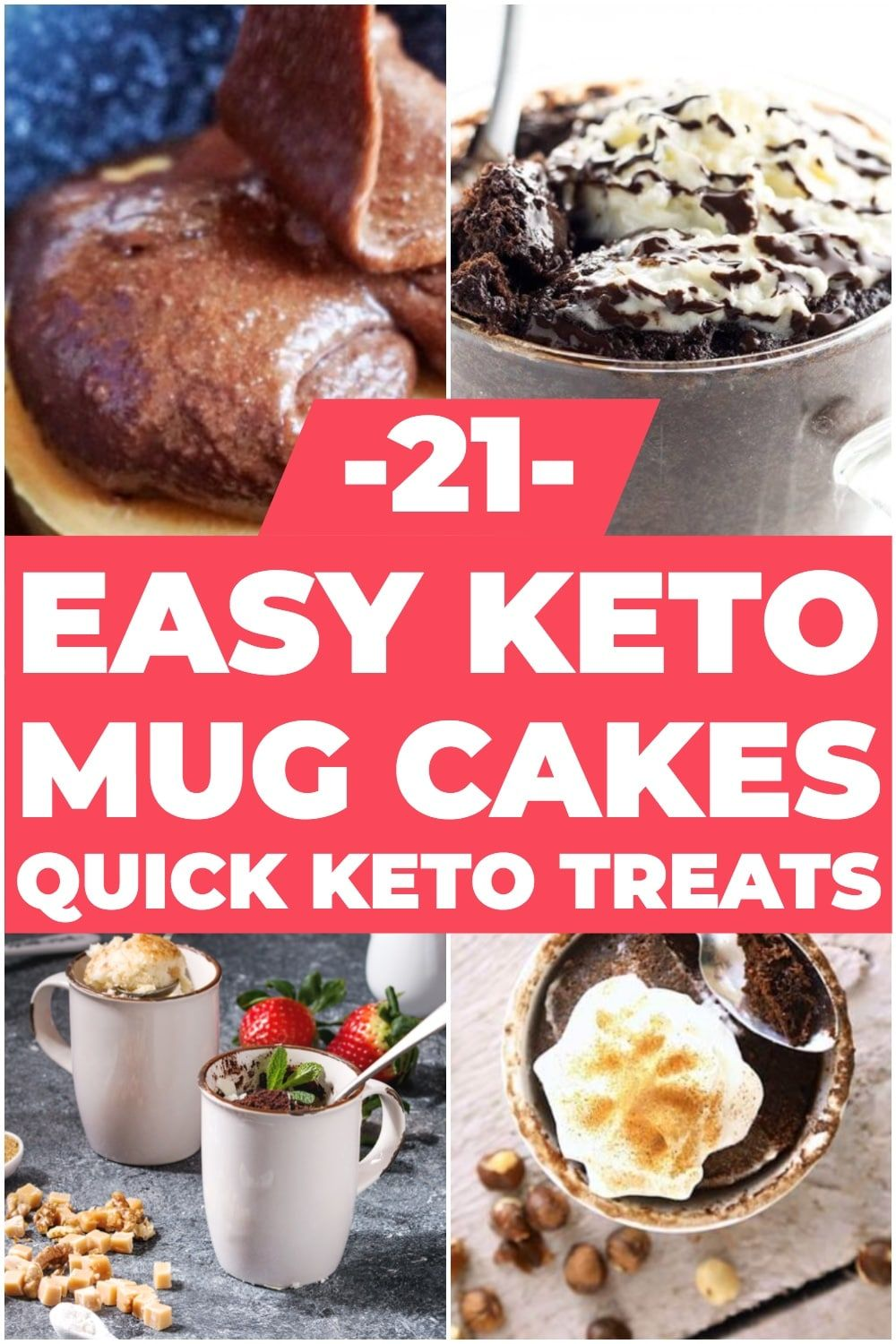 21 Keto Mug Cake Recipes: Low Carb Desserts You Can Make in Minutes