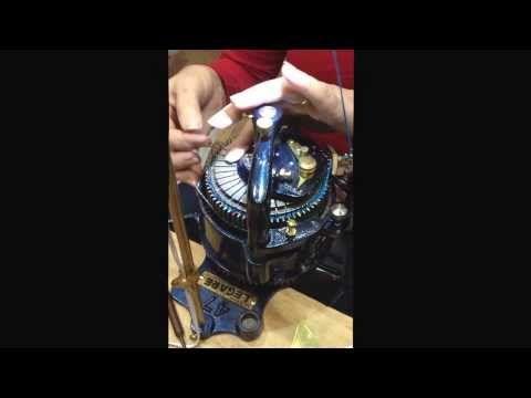 Circular Sock Knitting Machine (CSM) at Vogue Knitting Live Seattle March 2014. - http://www.knittingstory.eu/circular-sock-knitting-machine-csm-at-vogue-knitting-live-seattle-march-2014/