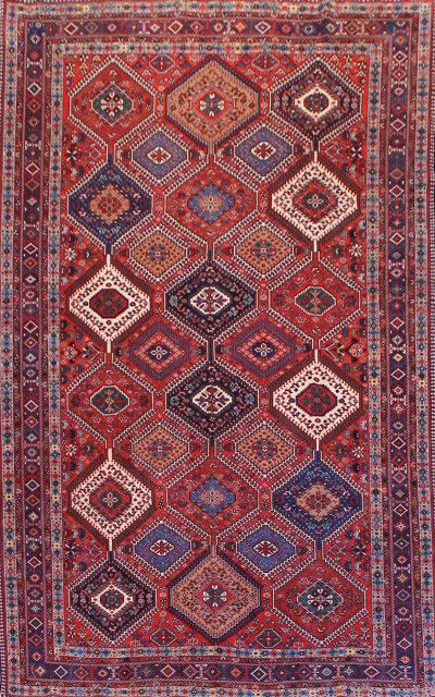 Yalameh 005 7242 Yalameh Tappeti Persiani Rugs On
