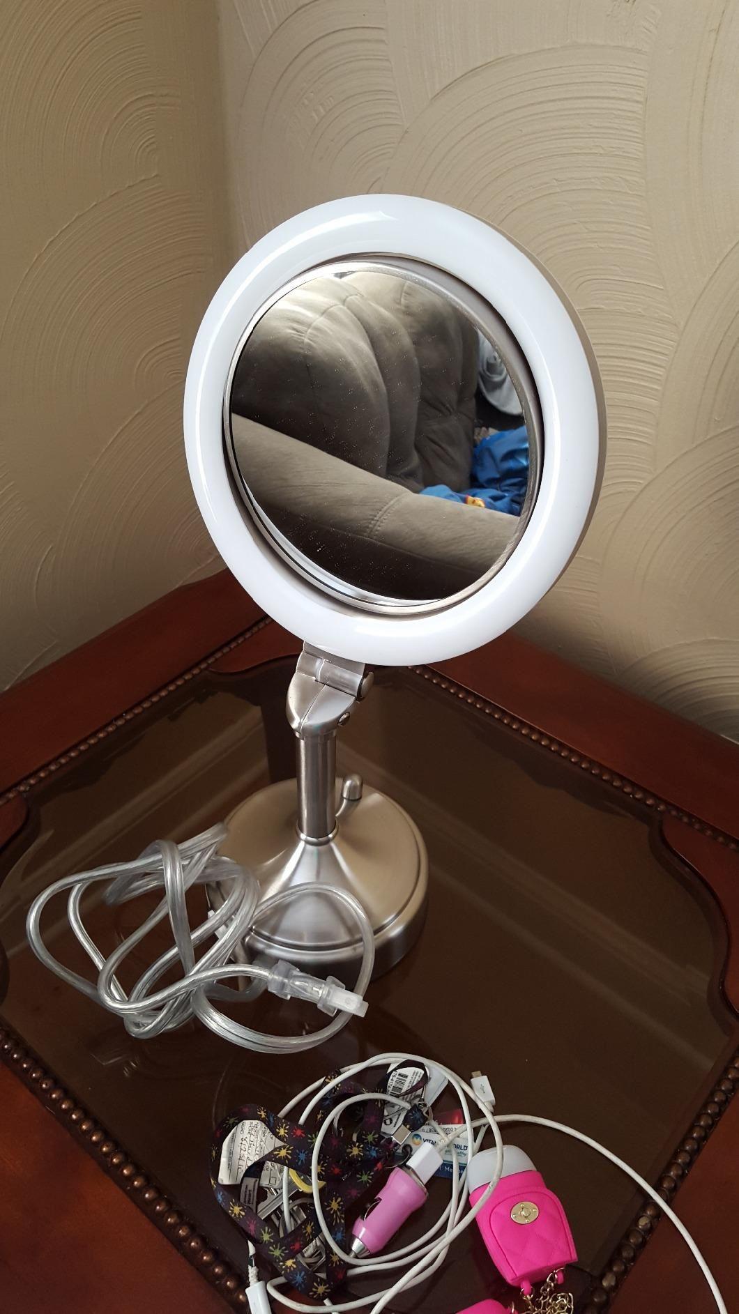 Amazon Com Zadro Dimmable Sunlight Vanity Mirror Satin