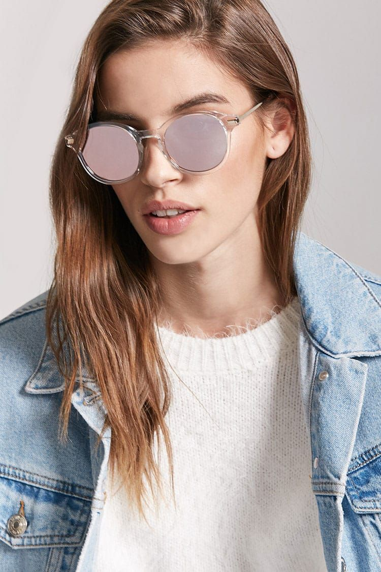 95f174640 Mirrored Round Sunglasses - Accessories for Women   Sunglasses, Backpacks &  Wallets   Forever 21 - 1000244090 - Forever 21 EU English